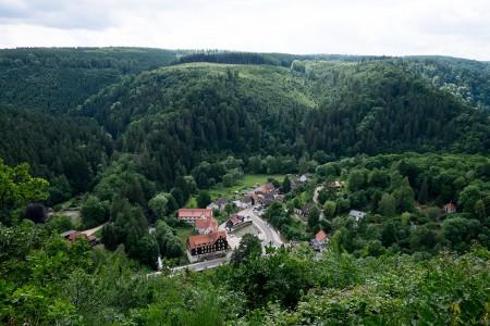 Harzer-Hexen-Stieg, 2017, Wanderung,  Treseburg