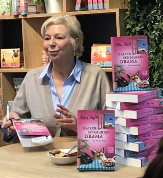 Leipziger Buchmesse, LBM 2018,  Rita Falk