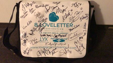 LLC2019, Signierte Tasche