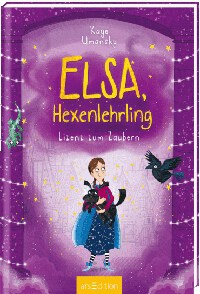 Rezension, Cover, Kaye Umansky, Elsa Hexenlehrling, arsEdition