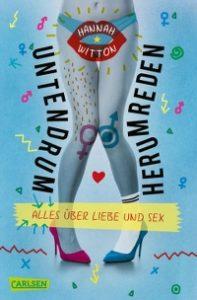 Cover, Carlsen Verlag, Untendrumherumreden, Hannah Witton