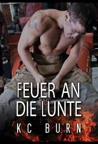 Cover, Dreamspinner Press, KC Burn, Feuer an die Lunte, Rezension