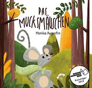 Rezension, Monika Augustin, Cover, Mucksmäuschen