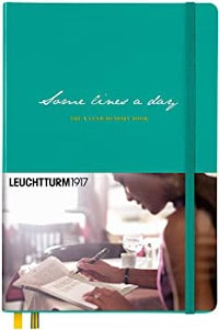 Tagebuch, Leuchtturm, Some lines a day
